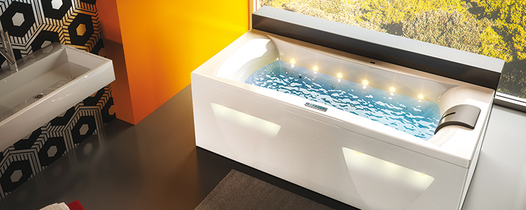 Salle de bain zen gr ce la baignoire lumineuse guide for Baignoire lumineuse