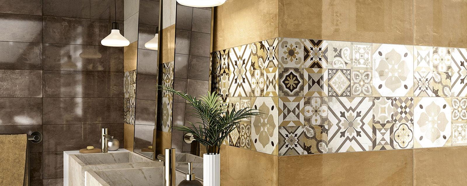 Carrelage Salle De Bain Avec Mosaique frise de salle de bains : comment bien la choisir ? | guide