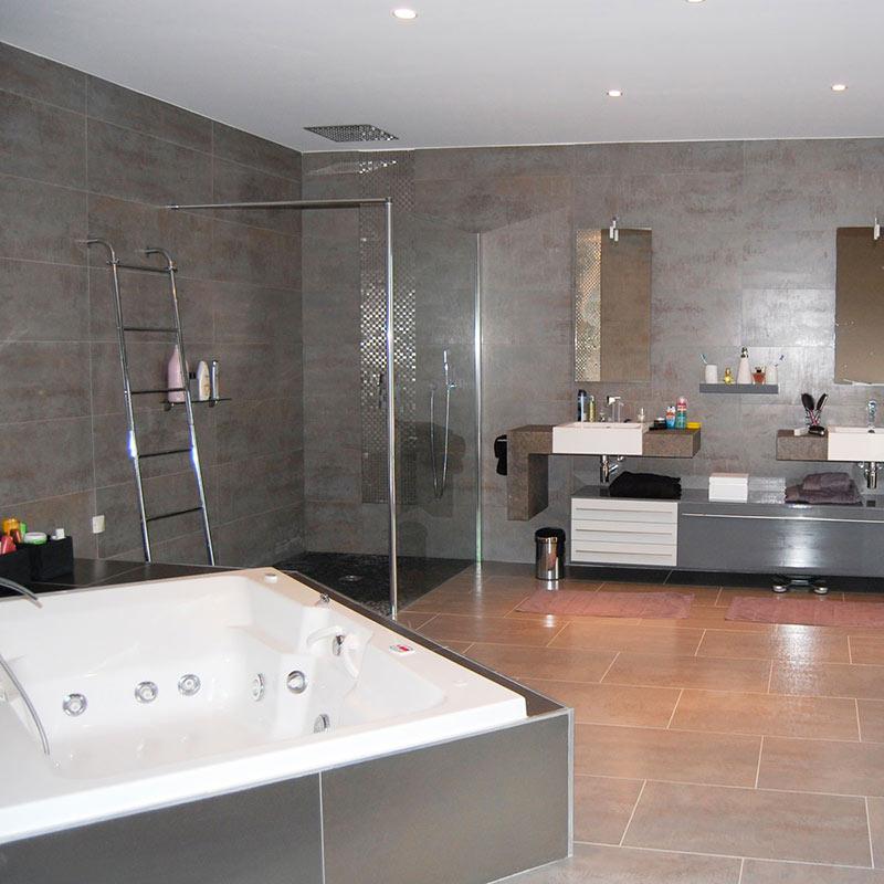 carrelage alain rouvi re artisan salle de bains mus. Black Bedroom Furniture Sets. Home Design Ideas